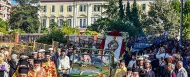 Λιτανεία Αγίου Δημητρίου του Μυροβλύτου στη Θεσσαλονίκη (ΦΩΤΟ)