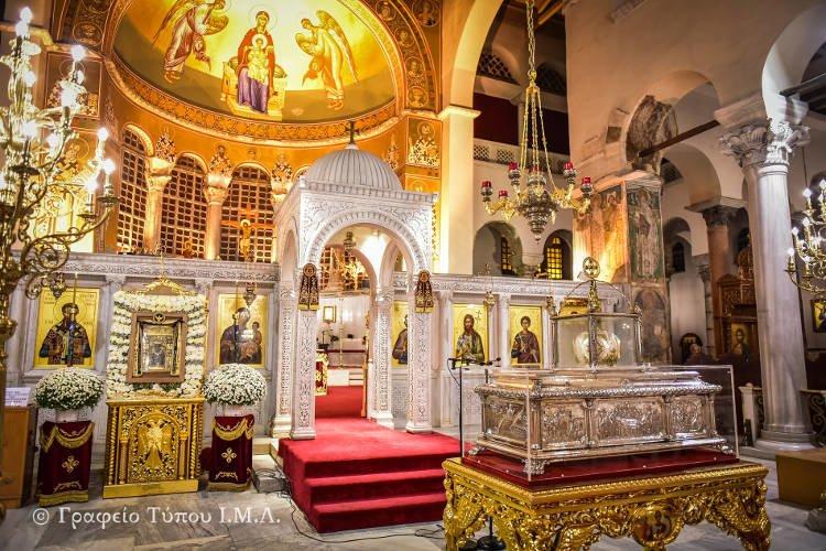 Αγρυπνία στον Ιερό Ναό Αγίου Δημητρίου Θεσσαλονίκης (ΦΩΤΟ)