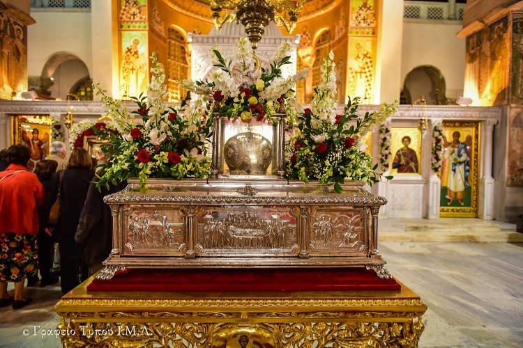 Πανηγυρικός Εσπερινός Αγίου Δημητρίου στη Θεσσαλονίκη
