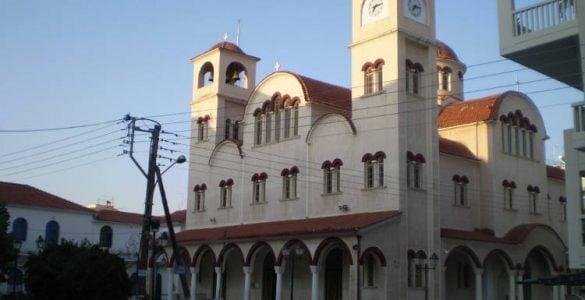 Πανήγυρις Αγίου Ιωάννου Μονεμβασιώτου στη Λάρισα