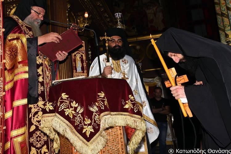 Κουρά νέου μοναχού στη Φανερωμένη Λευκάδος