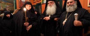 Κουρά μεγαλόσχημης μοναχής στην Ιερά Μονή Παναγίας Βρυούλων