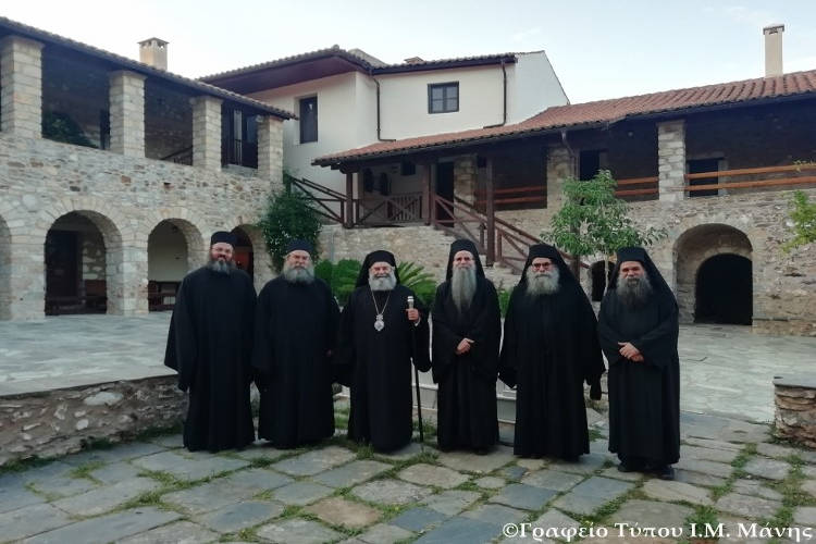 Προσκύνημα Μητροπολίτου Μάνης στην Ιερά Μονή Αγίων Τεσσαράκοντα Μαρτύρων Σπάρτης