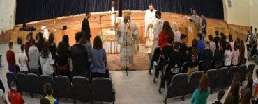 Θεία Λειτουργία στο Μουσικό Γυμνάσιο και Λύκειο Κομοτηνής (ΦΩΤΟ)
