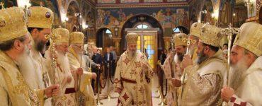 Εορτή Αγίου Ιεροθέου και ονομαστήρια Μητροπολίτου Ναυπάκτου (ΦΩΤΟ)
