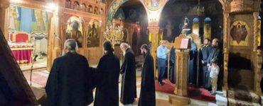 Προεόρτια Αγρυπνία στον Άγιο Δημήτριο Ναυπάκτου (ΦΩΤΟ)