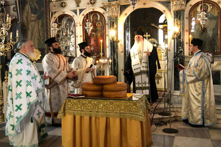 Εορτή Αγίου Διονυσίου του Αρεοπαγίτου στη Λιβαδειά