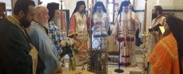 Ετήσιο Μνημόσυνο μακαριστού Επισκόπου Τανάγρας κυρού Πολυκάρπου