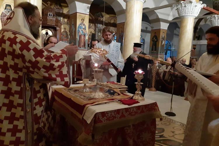 Θεία Λειτουργία Αγίου Ιακώβου του Αδελφοθέου στα Τρίκαλα