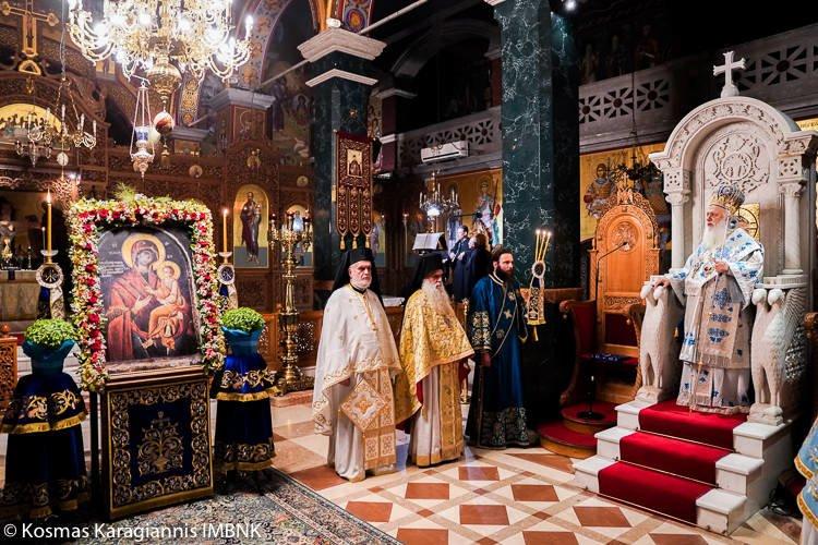 Αγρυπνία Παναγίας της Γοργοεπηκόου στη Βέροια