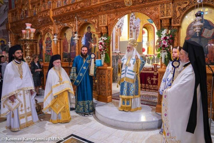 Η εορτή του Αγίου Αρτεμίου στη Βέροια
