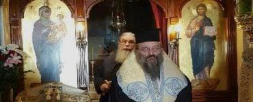 Προσκύνημα του Μητροπολίτου Χίου στον Άγιο Νεκτάριο