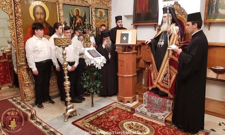 Εορτή Αγίας Θέκλης στο Πατριαρχείο Ιεροσολύμων