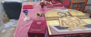 Διάρρηξη στον Ναό του Αγίου Μοδέστου στο Λόφο Αμπού Τόρ έναντι της Αγίας Σιών