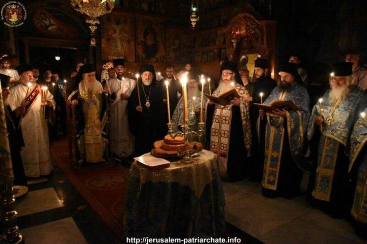 Εορτή Επανακομιδής Λειψάνου Αγίου Σάββα του Ηγιασμένου στο Πατριαρχείο Ιεροσολύμων