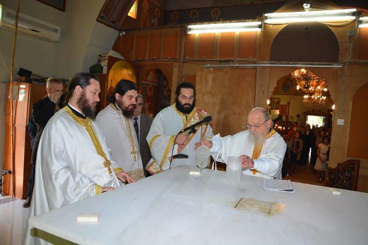 Εγκαίνια Ιερού Ναού Αγίου Αθανασίου Γιαννουζίου Αγρινίου (ΦΩΤΟ)