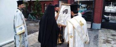 Υποδοχή Εικόνας Παναγίας Γλυκοφιλούσης στην Καρδίτσα