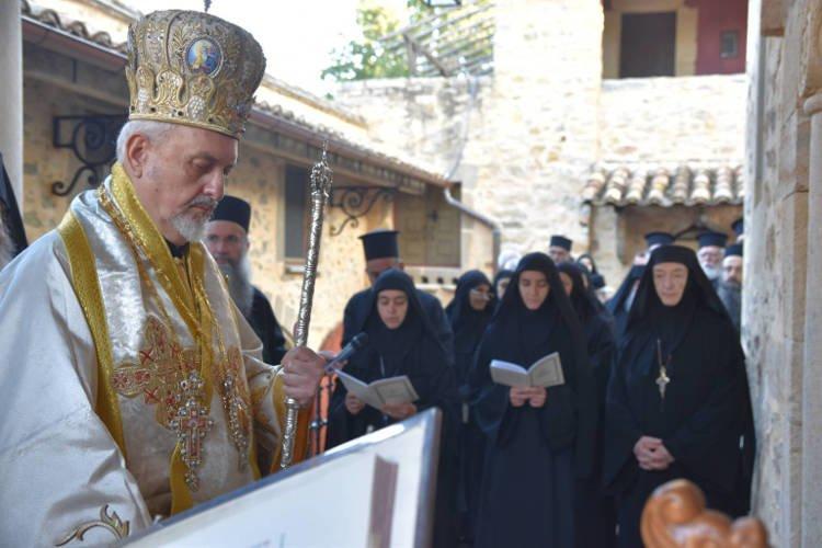 Εγκαίνια Καθολικού Ιεράς Μονής Αγίας Σκέπης Σολάν (ΦΩΤΟ)