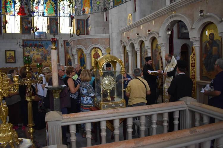 Προσκύνημα στους Αγίους Τόπους της Μητροπόλεως Θεσσαλιώτιδος (ΦΩΤΟ)