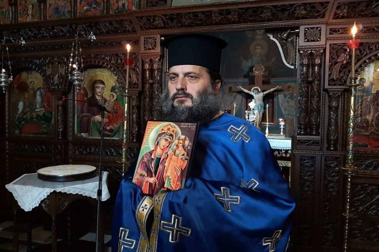 Αγρυπνία Παναγίας της Βασιλίσσης στη Μητρόπολη Θεσσαλιώτιδος
