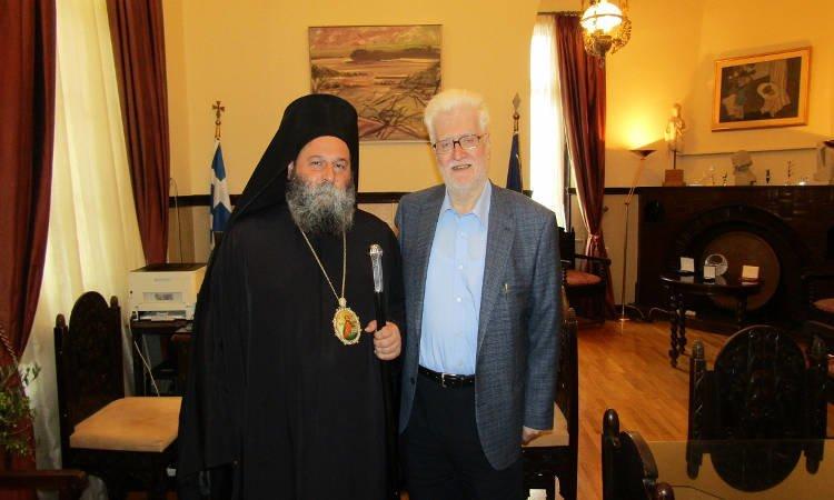 Συνάντηση Μητροπολίτου Ιωαννίνων με τον Δήμαρχο Ιωαννιτών