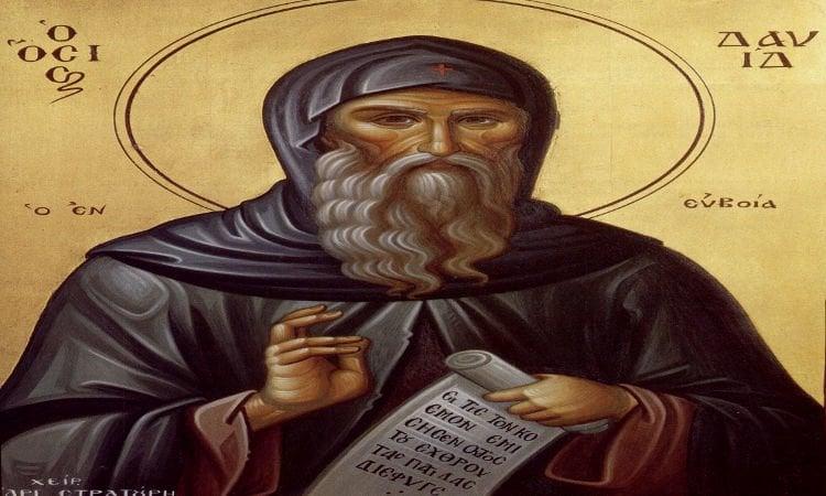Παρακλητικός Κανών Οσίου Δαβίδ του εν Ευβοία