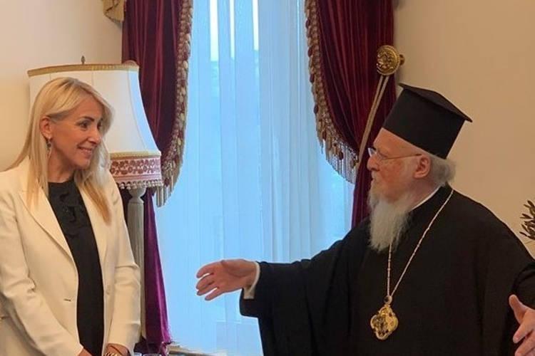 Ενημέρωση του Οικουμενικού Πατριάρχου για τη δράση «Ελληνική Γλώσσα, Πολιτισμός και ΜΜΕ»