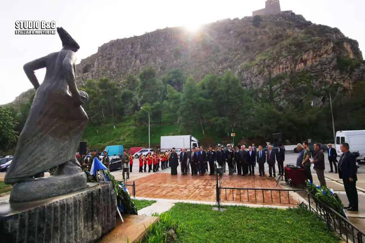 Ημέρα των Ενόπλων Δυνάμεων στο Ναύπλιο (ΦΩΤΟ)