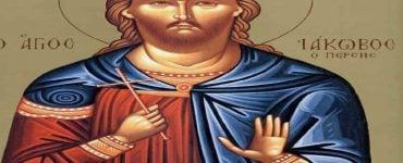 Εορτή Αγίου Μεγαλομάρτυρα Ιακώβου του Πέρσου