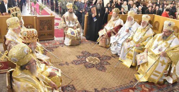 Η Ενθρονιστήρια Αρχιερατική Θεία Λειτουργία του Μητροπολίτου Φθιώτιδος