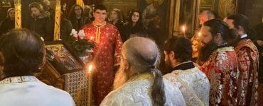 Αγρυπνία στην Ευαγγελίστρια Γρεβενών