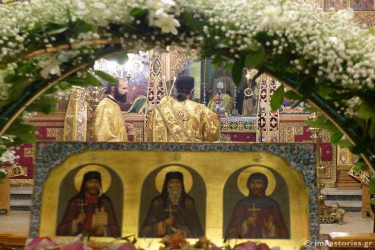 Λαμπρά εορτάστηκε ο Άγιος Ιάκωβος ο εκ Καστορίας (ΦΩΤΟ)