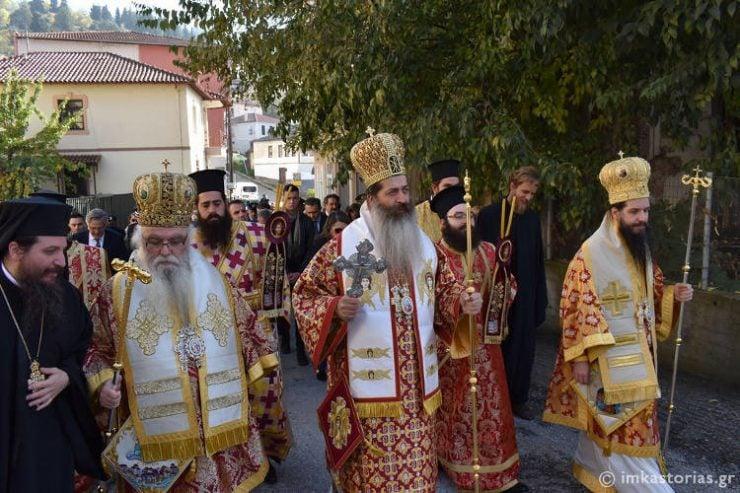 Λαμπρός εορτασμός του Πολιούχου της Καστοριάς Αγίου Μηνά (ΦΩΤΟ)