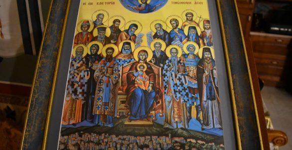 Λαμπρός εορτασμός πάντων των Καστοριανών Αγίων (ΦΩΤΟ)