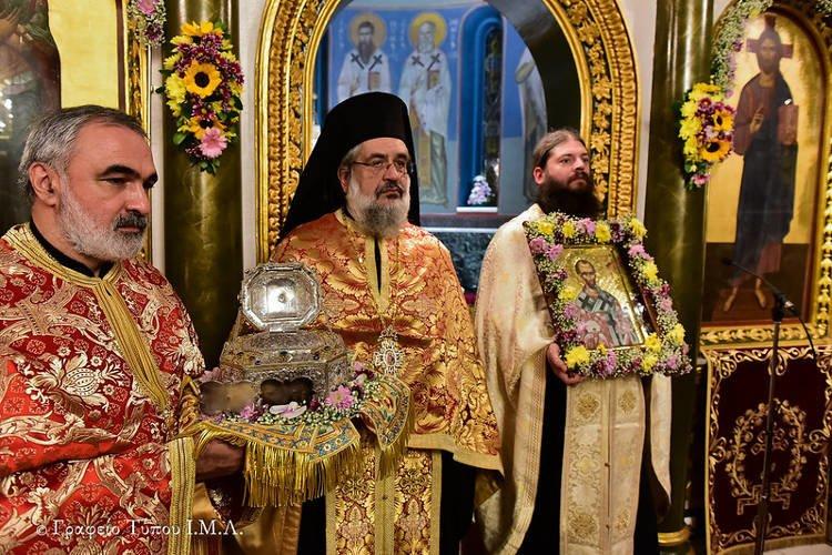Εορτή Ιερού Χρυσοστόμου στη Θεσσαλονίκη (ΦΩΤΟ)