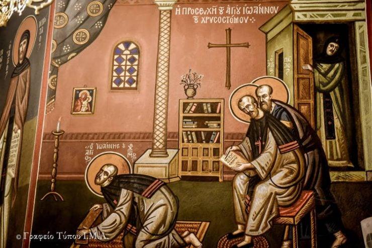 Λαμπρά εορτάστηκε ο Ιερός Χρυσόστομος στη Θεσσαλονίκη (ΦΩΤΟ)