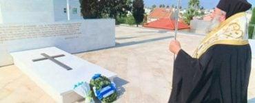 Τρισάγιο του Μητροπολίτου Μάνης στον Τύμβο Μακεδονίτισσας