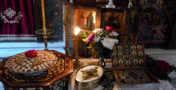 Εορτή Αποστόλου Ματθαίου στο Ηράκλειο