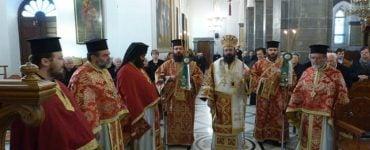 Εορτή Οσίου Νίκωνος του Μετανοείτε στη Μητρόπολη Πέτρας