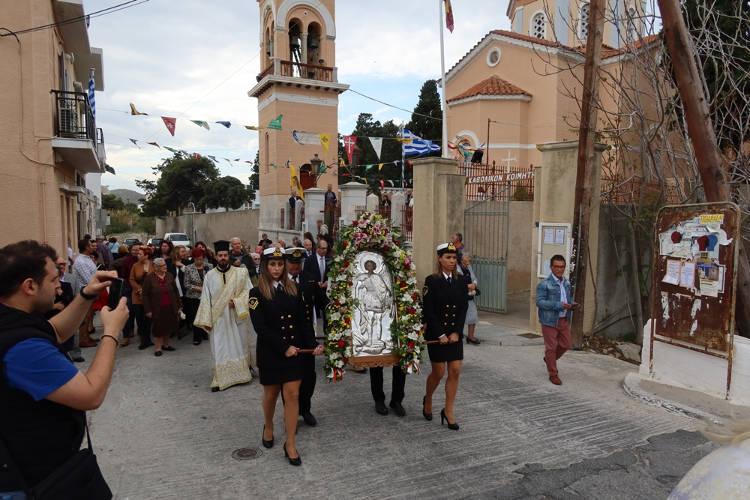 Η Εορτή των Παμμεγίστων Ταξιαρχών στη Σύρο