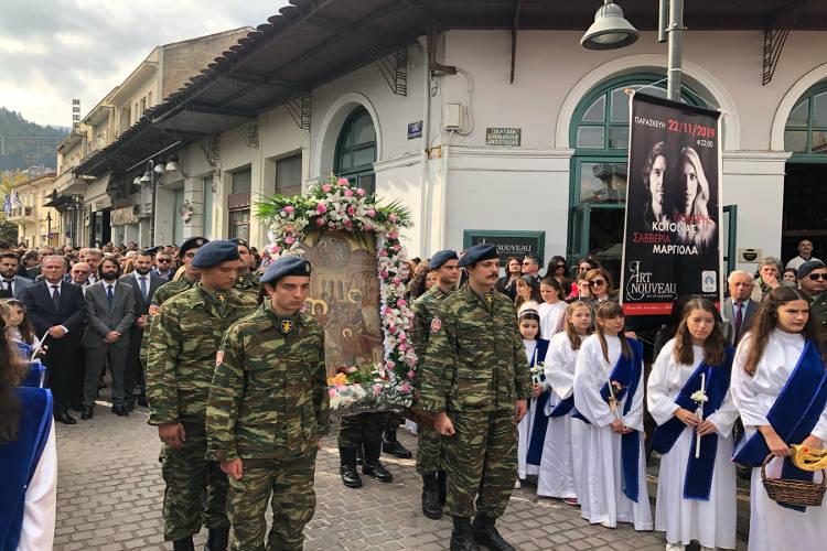 Λαμπρός εορτασμός της Αρχόντισσας της Ρούμελης