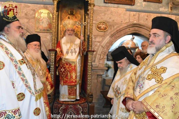 Εορτή Αγίου Ιακώβου του Αδελφοθέου στο Πατριαρχείο Ιεροσολύμων
