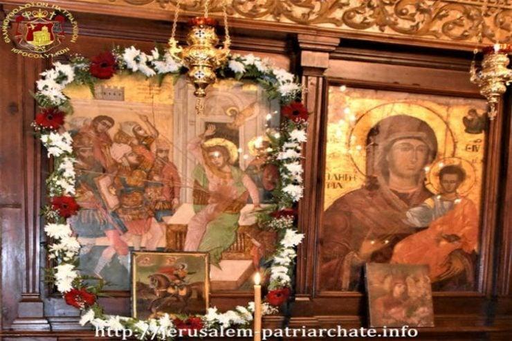 Εορτή Αγίου Δημητρίου στο Πατριαρχείο Ιεροσολύμων