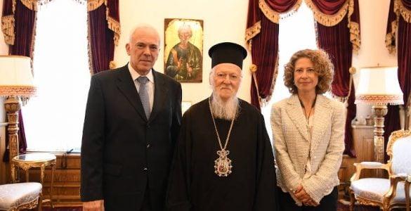 Ο νέος Πρέσβης της Ελλάδος στην Άγκυρα επισκέφθηκε το Οικουμενικό Πατριαρχείο