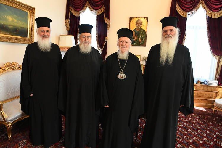 Ο Νέος Μητροπολίτης Λήμνου στο Οικουμενικό Πατριαρχείο