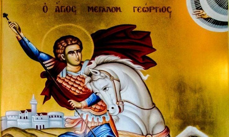 Πανήγυρις και προσκύνηση Λειψάνου Αγίου Γεωργίου στη Μητρόπολη Εδέσσης