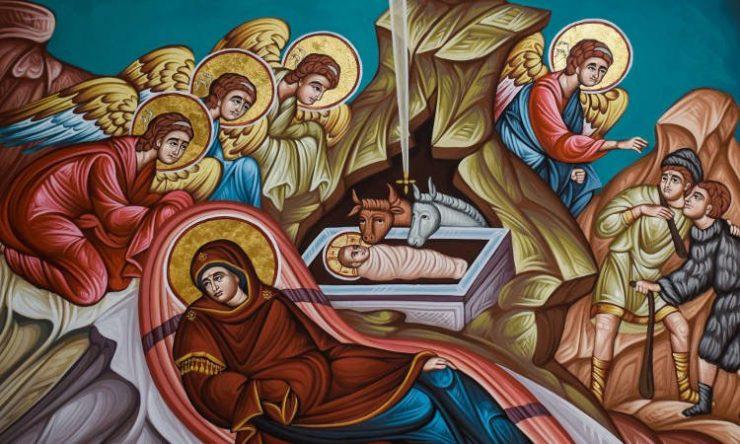 Σαρανταλείτουργο Χριστουγέννων στην Αγία Ειρήνη Χρυσοβαλάντου Δράμας Αγρυπνία Αποδόσεως Εορτής των Χριστουγέννων στα Τρίκαλα