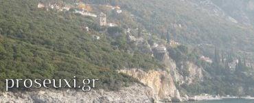 Άγιον Όρος: Προσκυνητής βούτηξε στο κενό κρατώντας μια εικόνα της Παναγίας