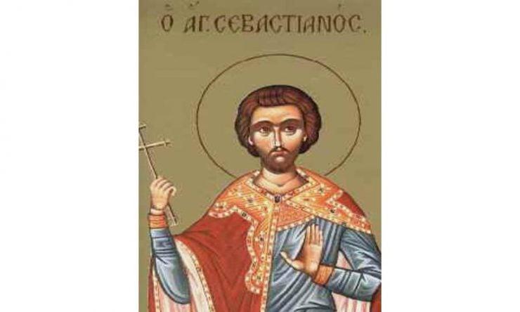 Αγρυπνία Αγίου Σεβαστιανού στο Βόλο Γιορτή Αγίου Σεβαστιανού