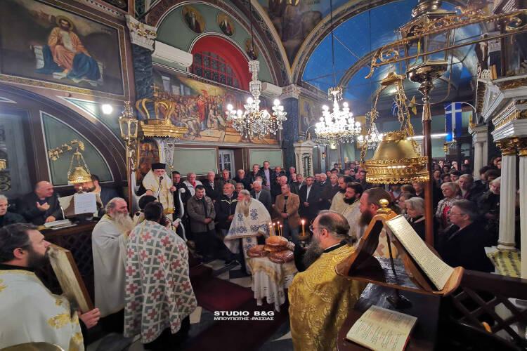 Η Εορτή του Αγίου Σπυρίδωνος στο Ναύπλιο (ΦΩΤΟ)